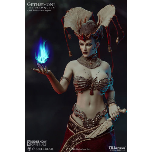 Sideshow Court of the Dead: Gethsemoni The Dead Queen 1:6 Scale Figure
