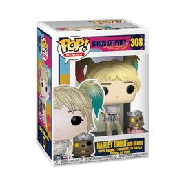 FUNKO Pop! DC: Birds of Prey - Harley Quinn with Beaver
