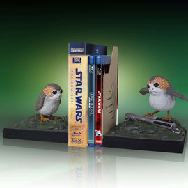 Gentle Giant Star Wars: Porg Bookends