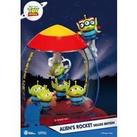 Disney: Toy Story 4 - Aliens Rocket PVC Diorama