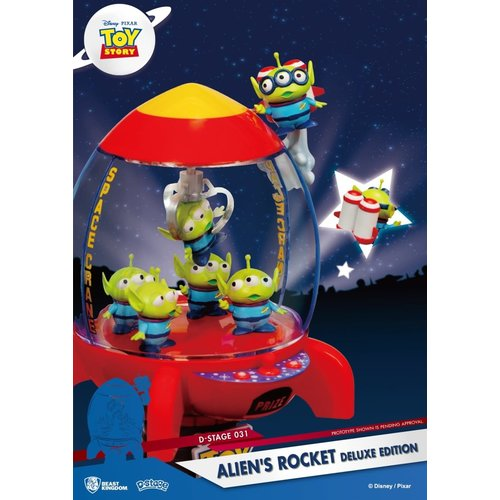 Beast Kingdom Disney: Toy Story 4 - Aliens Rocket PVC Diorama