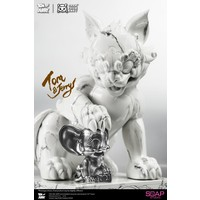 Looney Tunes: Tom and Jerry White Marble Statue