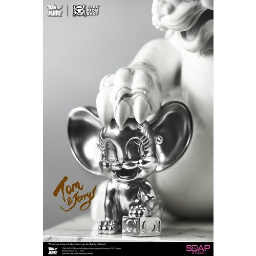 soap studios Looney Tunes: Tom and Jerry White Marble Statue