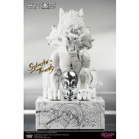 Pre order: Looney Tunes: Sylvester and Tweety White Marble Statue
