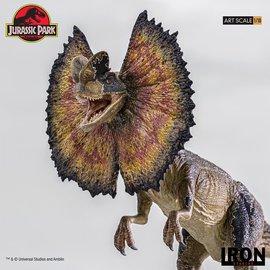 Iron Studios Jurassic Park: Dilophosaurus 1:10 Scale Statue
