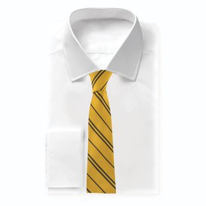 fame bros Harry Potter: Adult Hufflepuff Woven Necktie