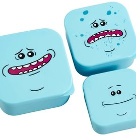 FUNKO Rick and Morty: Mr. Meseeks 3 Piece Plastic Storage Set