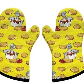 FUNKO Rick and Morty: Szechuan Sauce Oven Gloves