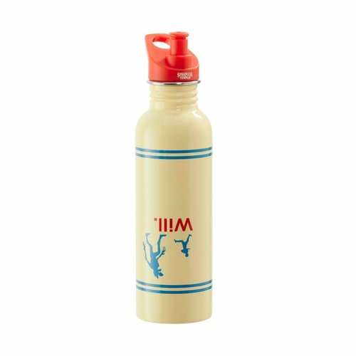 FUNKO Stranger Things: Silhouette Metal Water Bottle