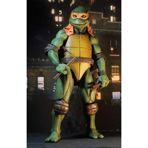 NECA TMNT: 1990 Movie - Michelangelo 1:4 Scale Figure