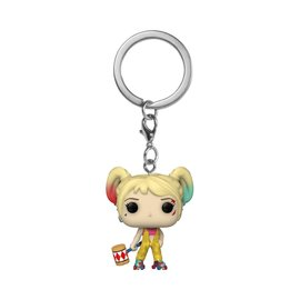 FUNKO Pocket Pop! Keychain: DC Birds of Prey - Harley Quinn Boobytrap Battle