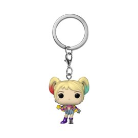 FUNKO Pocket Pop! Keychain: DC Birds of Prey - Harley Quinn Caution Tape