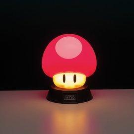 Paladone Super Mario: Super Mushroom Icon Light Version 2
