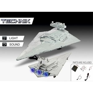 REVELL Star Wars: Imperial Star Destroyer Electronic - 1:2700 Scale Model Kit