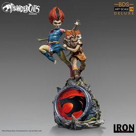 Iron Studios Thundercats: Deluxe WilyKit and WilyKat 1:10 Scale Statue