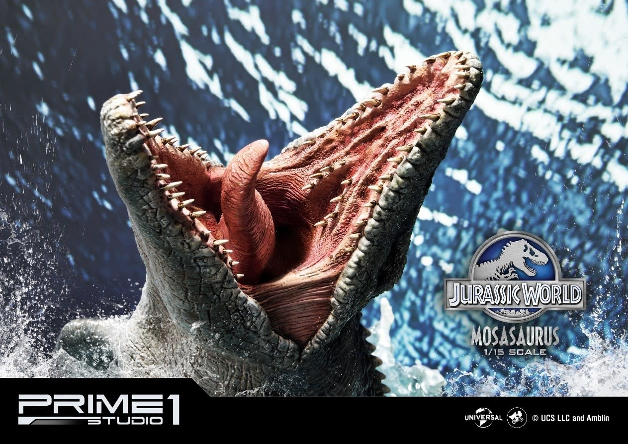 PRIME ONE Jurassic World: Mosasaurus 1:15 Scale Statue
