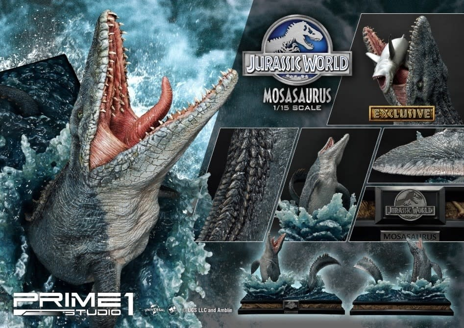 PRIME ONE Jurassic World: Exclusive Mosasaurus 1:15 Scale Statue