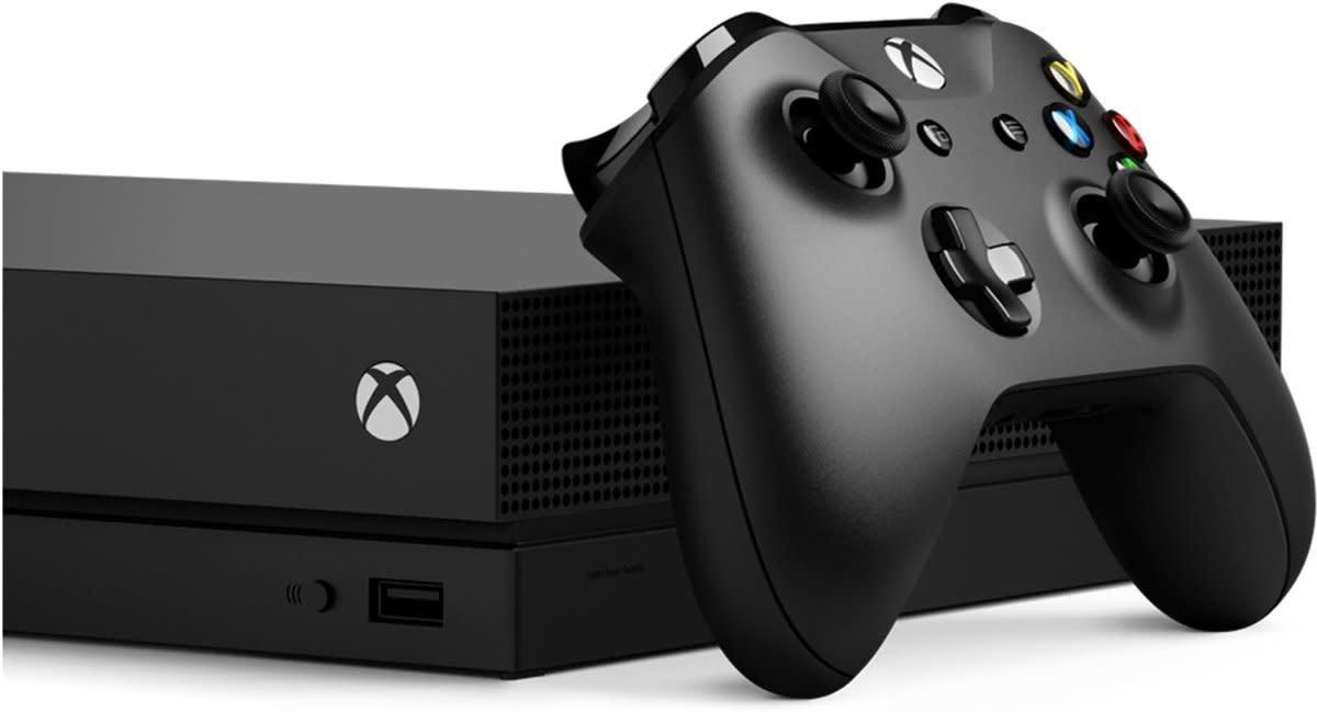 microsoft Xbox One X Console with Shadow of the Tomb Raider Bundle EU Spec