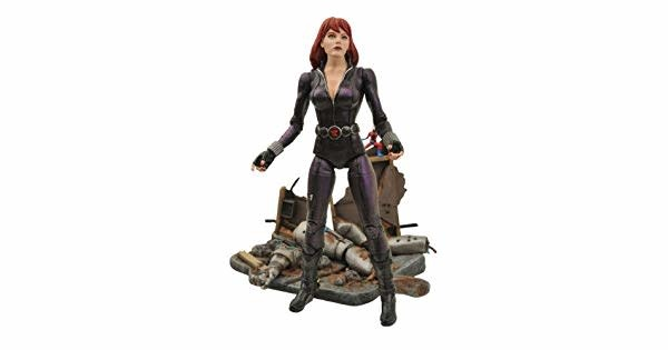 Diamond Direct Marvel Select: Black Widow Action Figure