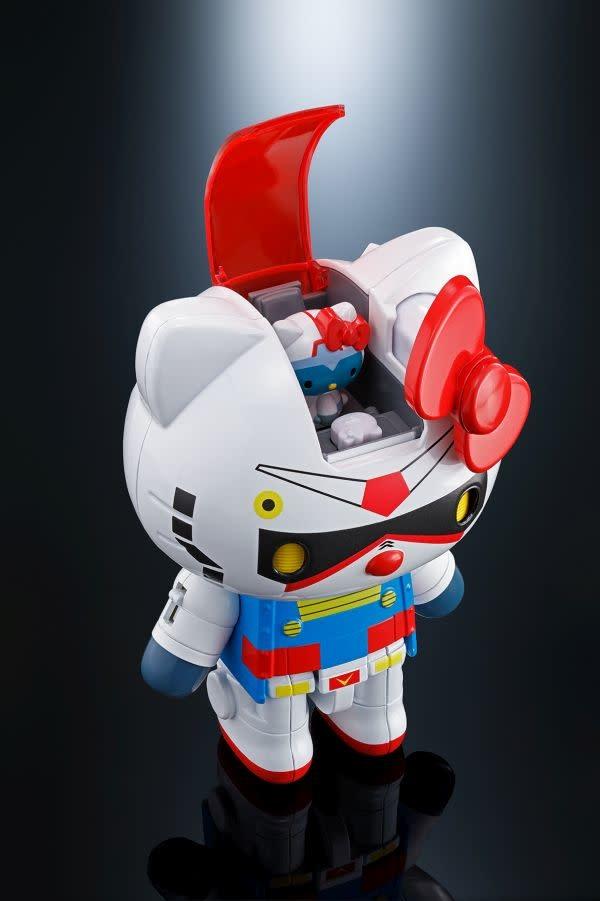 Bandai Gundam  Hello  Kitty  Chogokin