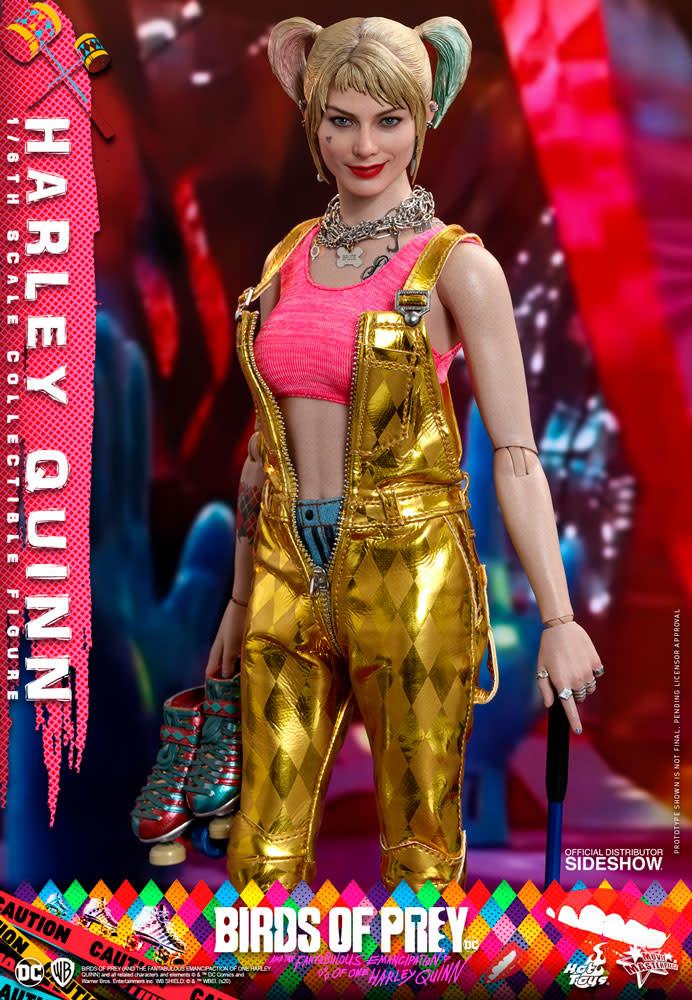 Hottoys DC Comics: Birds of Prey - Harley Quinn 1:6 Scale Figure