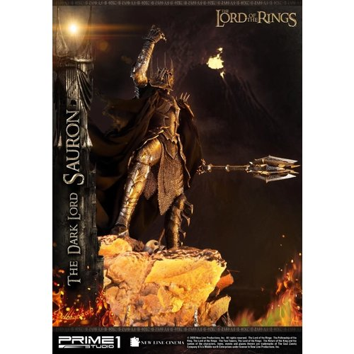 Prime 1 Studio Lord of the Rings: The Dark Lord Sauron 1:4 Scale Statue
