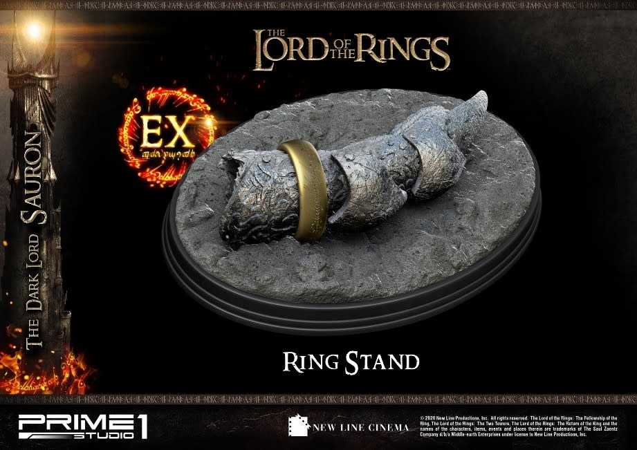 Prime 1 Studio Lord of the Rings: Exclusive The Dark Lord Sauron 1:4 Scale