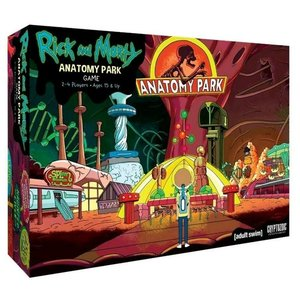 Cryptozoic Entertainment Rick and Morty: Anatomy Park Game