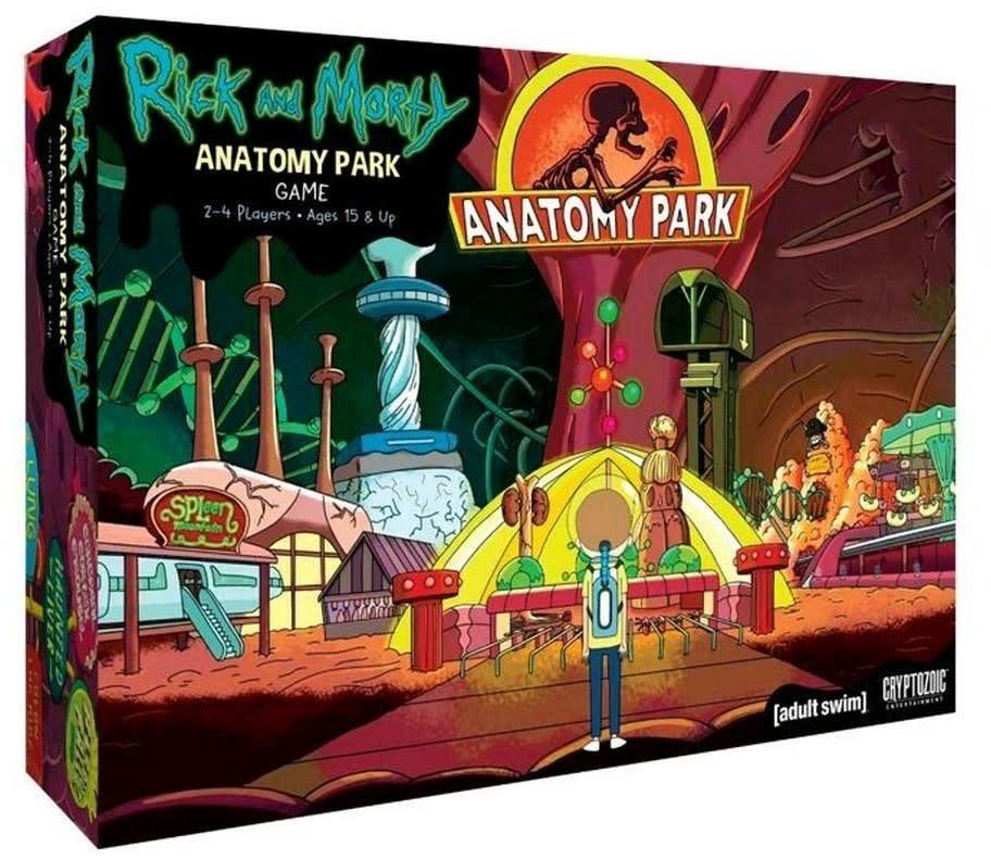 Cryptozoic Entertainment Rick and Morty: Anatomy Park Game