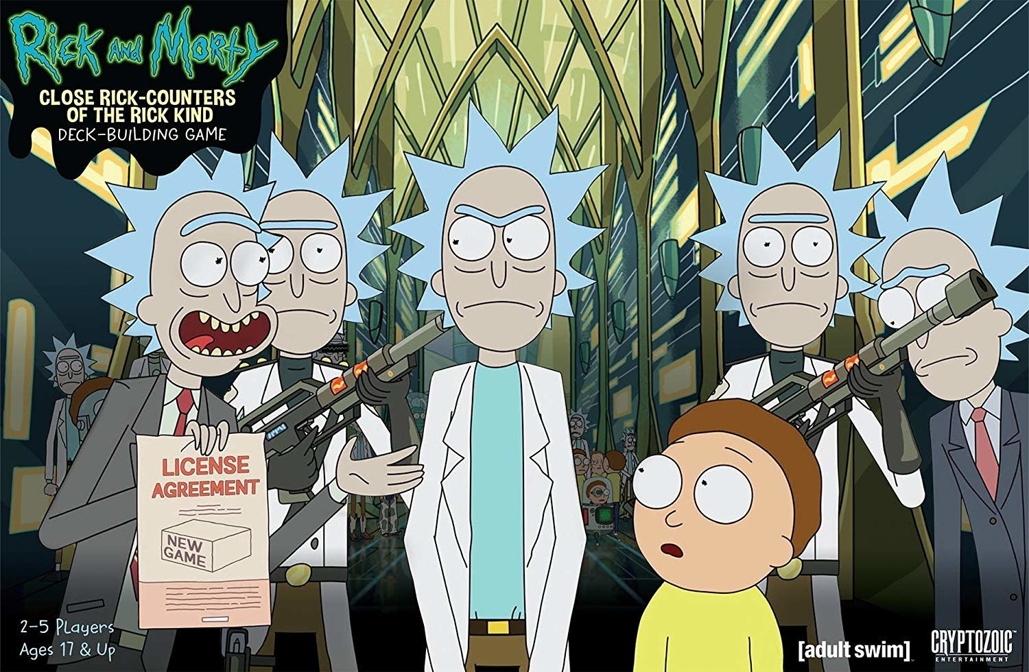 Cryptozoic Rick and Morty: Close Rick-Counters of the Rick Kind - Deck-Building Game