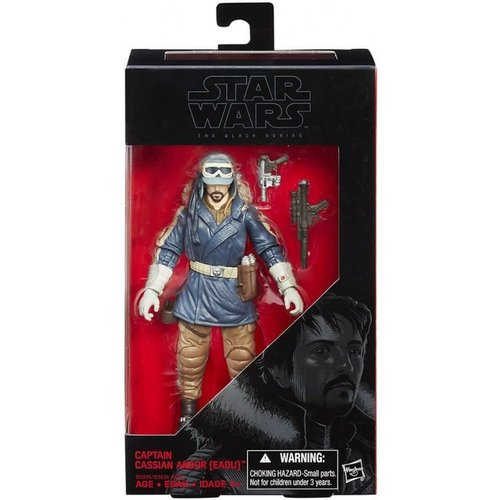 HASBRO Star Wars 6-Inch E7 Black Series Figure - Captain Cassian Andor