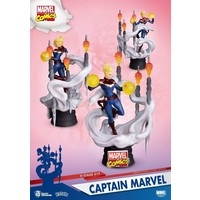 Marvel: D-Stage - Captain Marvel PVC Diorama