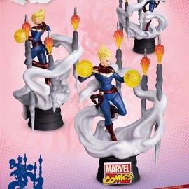 Beast Kingdom Marvel: D-Stage - Captain Marvel PVC Diorama
