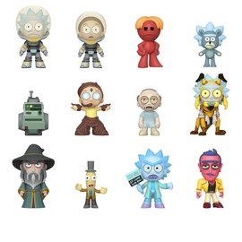 FUNKO Mystery Minis: Rick and Morty (price per piece)