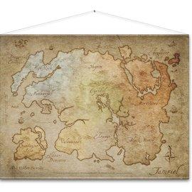 Gaya Entertainment The Elder Scrolls Online Wallscroll Map