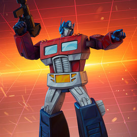 Pop Culture Shock Transformers: Optimus Prime G1 Museum Scale Statue