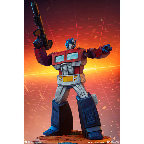 Pop Culture Shock Transformers: Optimus Prime G1 Museum Scale Statue