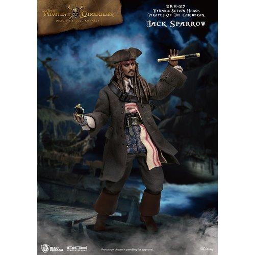 Beast Kingdom Disney: Pirates of the Caribbean - Captain Jack Sparrow 1:9 Scale