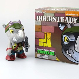 Kidrobot The Mutated Ninja Turtles : Rocksteady Medium Figure