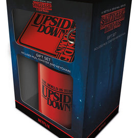 Hole In The Wall Stranger Things The World Is Turning Upside Down - Gift Set
