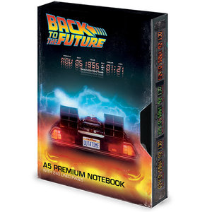 piramyd Back To The  Future VHS A5 Notebook