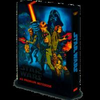 STAR WARS A New Hope VHS A5 Notebook