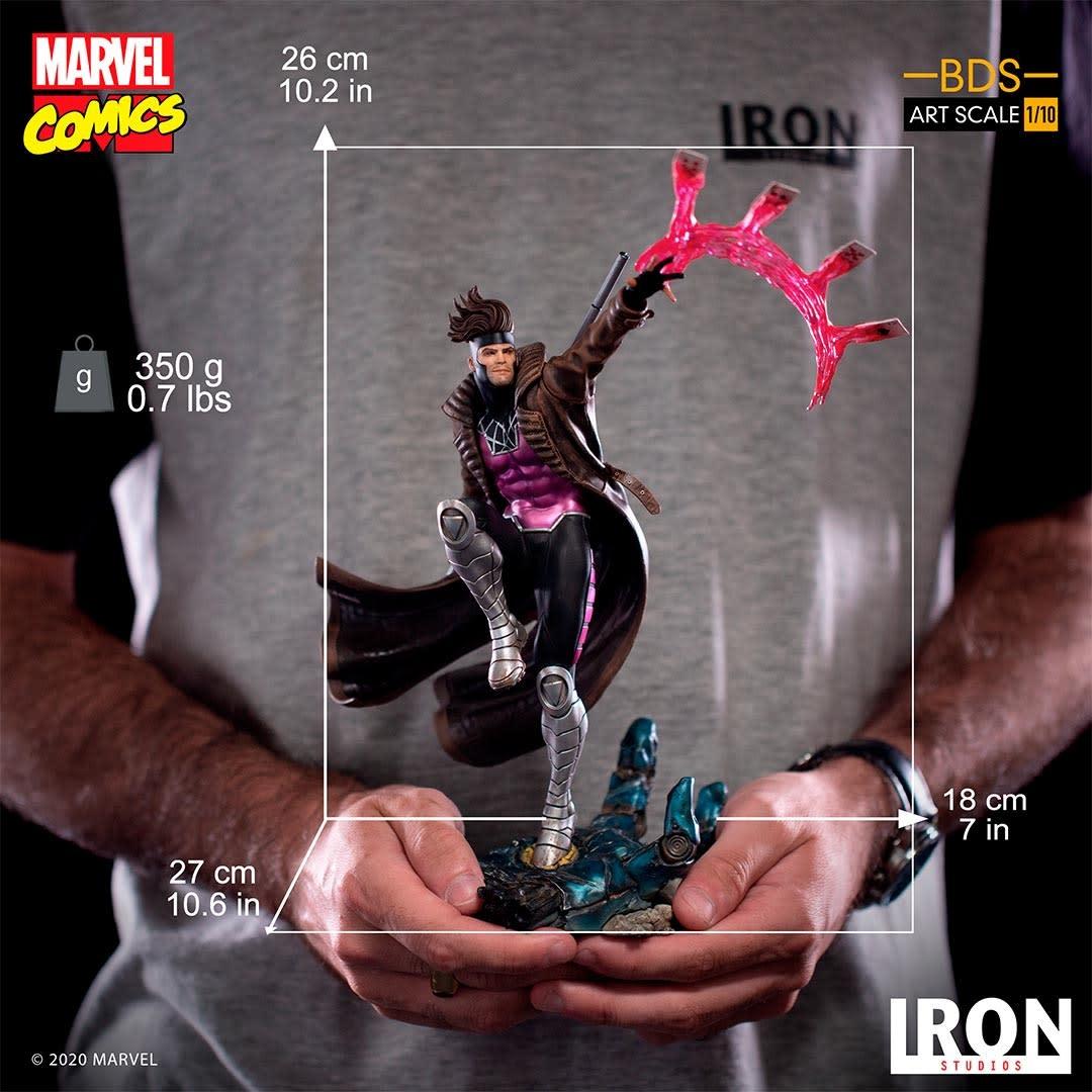 Iron Studios Marvel: X-Men - Gambit 1:10 Scale Statue