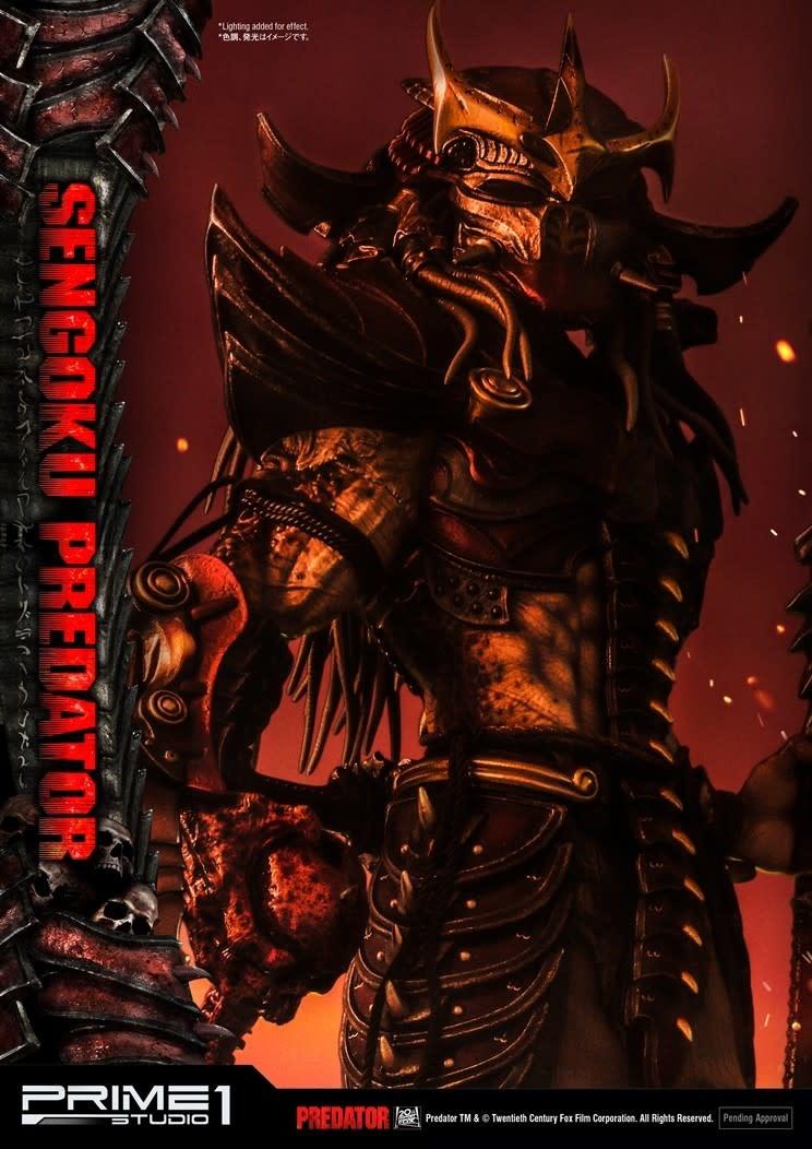 Prime 1 Studio Predator Comics: Sengoku Predator 35 inch Statue