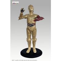 Star Wars: Red Arm C-3PO Version 3 - 18 cm Statue