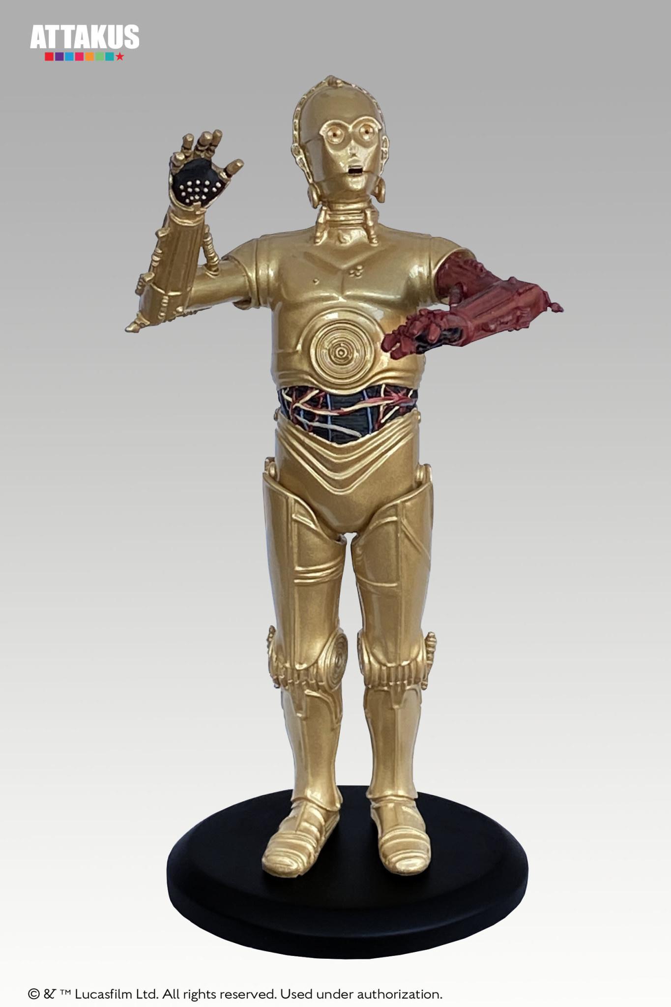 Attakus Star Wars: Red Arm C-3PO Version 3 - 18 cm Statue
