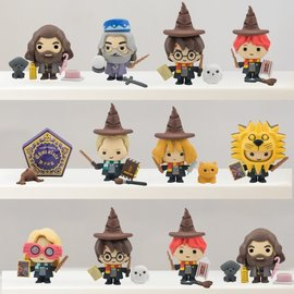 fame bros Harry Potter: Chibi Blindbox Figurine Eraser with Accessories - (price per piece)