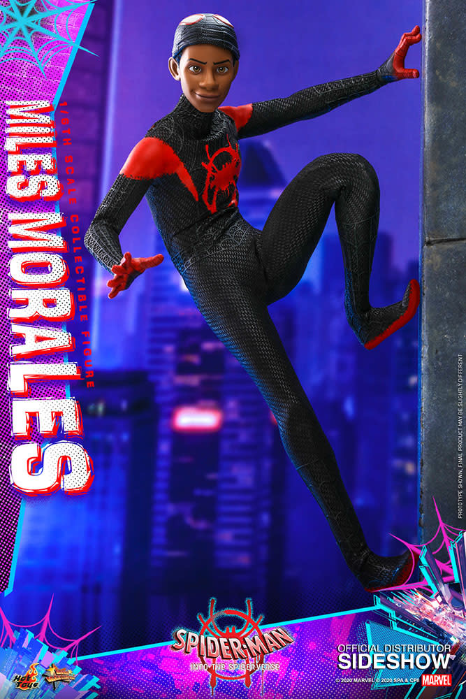 Hot toys Marvel: Spider-Man into the Spider-Verse - Miles Morales 1:6 Scale Figure