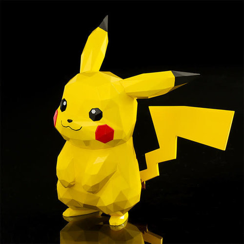 sentinel D4 toys Pokemon: Polygo Pikachu Pocket Monsters Figure