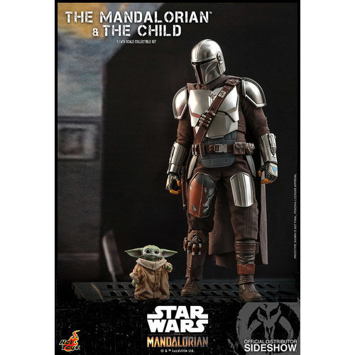 Sideshow Star Wars: The Mandalorian and The Child 1:6 Scale Figure Set